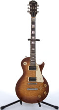Musical Instruments:Electric Guitars, 1982 Schulte Les Paul Copy Maple Flame Top Electric Guitar #30179....