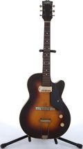 Musical Instruments:Electric Guitars, 1950's S.S. Stewart Oriphonic Sunburst Archtop Electric Guitar#N/A....