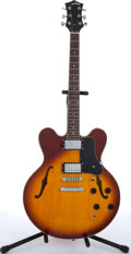 Musical Instruments:Electric Guitars, Recent Arbor J-135 Sunburst Archtop Electric Guitar # N/A....