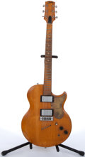 Musical Instruments:Electric Guitars, 1974/75 Gibson LP Style Thin Solid Body Natural Electric Guitar#397017....