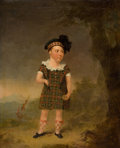 Fine Art - Painting, European:Antique  (Pre 1900), FROM THE ESTATE OF KENNETH KENDALL, LOS ANGELES, CALIFORNIA.WILLIAM YELLOWLEES (Scottish, 1796-1856). Portrait ofMaste...