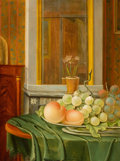 Fine Art - Painting, European:Antique  (Pre 1900), FROM THE ESTATE OF KENNETH KENDALL, LOS ANGELES, CALIFORNIA. DAVID VAN WELLE (Dutch, 1772-1848). Still Life with Grapes ...