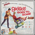 """Movie Posters:Comedy, Gidget Goes to Rome (Columbia, 1963). Six Sheet (81"""" X 81""""). Comedy.. ..."""
