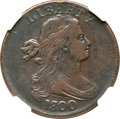 Large Cents, 1800/1798 1C VF25 NGC. S-190, B-5, R.3....