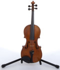Musical Instruments:Violins & Orchestra, Vintage Copy Of Antonius Stradivarius Natural Violin #N/A....