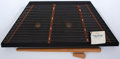 Musical Instruments:Miscellaneous, 1986 Dusty Strings Apprentice Black Hammer Dulcimer Console#3417....
