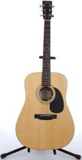Musical Instruments:Acoustic Guitars, Sigma By Martin DM-2 Natural Acoustic Guitar #259511....