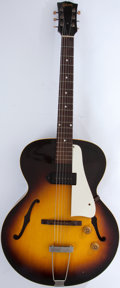 Musical Instruments:Electric Guitars, 1950's Gibson ES-125 Sunburst Archtop Electric Guitar #W996 33....