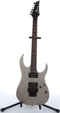 Musical Instruments:Electric Guitars, 2002 Ibanez RG-220 B Gray Electric Guitar #C02081995....