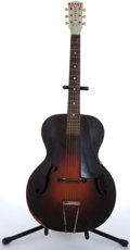 Musical Instruments:Acoustic Guitars, 1930's Orpheum By Kay No. 2 Sunburst Archtop Acoustic Guitar # N/A....