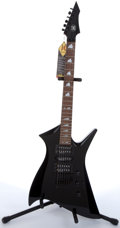 Musical Instruments:Electric Guitars, AXL 009 FireAX Black Electric Guitar #0071053518....