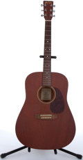 Musical Instruments:Acoustic Guitars, 1980 Martin D-15 Mahogany Acoustic Guitar #661589....