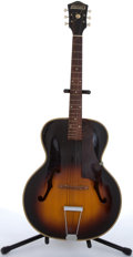Musical Instruments:Acoustic Guitars, Harmony H1456 Monterey Sunburst Archtop Acoustic Guitar #UV-S2S....