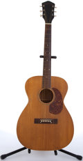 Musical Instruments:Acoustic Guitars, 1940s Harmony H-1205 Natural Acoustic Guitar #3987H1205....