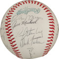 Autographs:Others, 1967-79 Thurman Munson Ephemera from Kent State Teammate with Multiple Autographs....