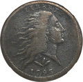 Large Cents, 1793 1C Wreath Cent, Vine and Bars Fine 12 NGC. S-10, B-10, R.4....