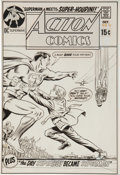 Original Comic Art:Covers, Curt Swan and Murphy Anderson Action Comics #393 SupermanCover Original Art (DC, 1970)....
