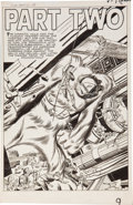 "Original Comic Art:Splash Pages, Jack Kirby and Dick Ayers Journey Into Mystery #66 ""TheReturn of the Hulk"" (Xemnu) Part Two Splash Page..."