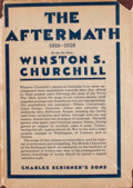 Books:First Editions, Sir Winston S. Churchill. The Aftermath 1918-1928. ...
