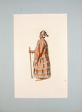 Antiques:Posters & Prints, [J. Daldy, engraver]. Six Hand-Colored Engravings of Indigenous Peoples.... (Total: 6 Items)