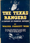 Books:First Editions, Walter Prescott Webb. The Texas Rangers....
