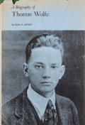 Books:First Editions, [Thomas Wolfe, subject]. Neal F. Austin. A Biography of ThomasWolfe....