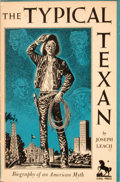 Books:Signed Editions, [Jose Cisneros, illustrator]. Joseph Leach. Signed by Cisneros. The Typical Texan....
