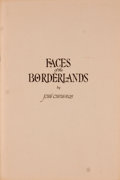 Books:Signed Editions, Jose Cisneros. Signed. Faces of the Borderlands....