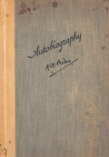 Books:First Editions, A. A. Milne. Autobiography....
