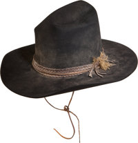 "A Nudie's Cowboy Hat from ""Rooster Cogburn."""