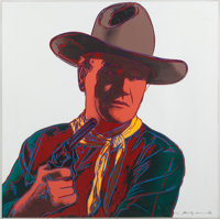 An Andy Warhol Limited Edition Signed Print from the 'Cowboys and Indians' Series, 1986