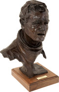 Movie/TV Memorabilia:Memorabilia, A Bronze Sculpture by Gallagher Rule, 1979....