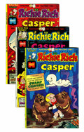 Bronze Age (1970-1979):Cartoon Character, Richie Rich and Casper File Copies Group (Harvey, 1974-82)Condition: NM-.... (Total: 86 Comic Books)