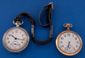 Timepieces:Pocket (post 1900), Two - 16 Size Elgin Pocket Watches Runners. ... (Total: 2 Items)