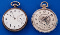 Timepieces:Pocket (post 1900), Two - Elgin 12 Size Pocket Watches Runners. ... (Total: 2 Items)