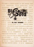 Books:Signed Editions, Dee Woods. Signed. Blaze of Gold....