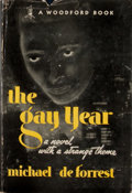 Books:First Editions, Michael de Forest. The Gay Year. . ...