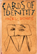 Books:First Editions, Nigel Dennis. Cards of Identity. ...