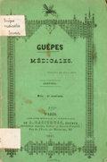 Books:First Editions, [Janvier]. Guepes Medicales. ...