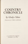 Books:First Editions, Gladys Taber. Country Chronicle....
