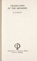 Books:First Editions, R. O. Whyte. Grasslands of the Monsoon....