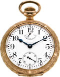 Timepieces:Pocket (post 1900), Waltham 23 Jewel 18 Size Vanguard With Up/Down Indicator, circa 1908. ...
