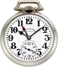 Timepieces:Pocket (post 1900), Illinois 23 Jewel 163 Elinvar Sixty Hour Bunn Special, circa 1931....