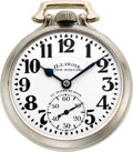 Timepieces:Pocket (post 1900), Illinois 21 Jewel 161 Elinvar Sixty Hour Bunn Special, circa 1931....