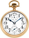 Timepieces:Pocket (post 1900), Elgin 23 Jewel 18 Size Veritas Up/Down Indicator, circa 1911. ...