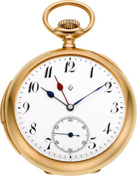 Swiss Gold Minute Repeater For Eaton, circa 1905