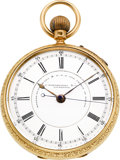 Timepieces:Pocket (pre 1900) , J. Hargreaves & Co. Massive 18k Gold Center Seconds Watch,circa 1875. ...