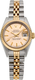 Timepieces:Wristwatch, Rolex Lady's Ref. 69173 Two Tone Oyster Perpetual Datejust, circa1986. ...