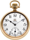 Timepieces:Pocket (post 1900), Ball Rare Order of Railway Conductors 17 Jewel Official Standard,circa 1912. ...