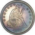 Proof Seated Quarters, 1888 25C PR64 NGC....